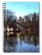 Boat House 2 Spiral Notebook