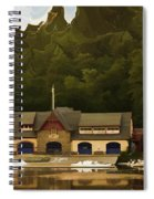 Boat House Row Spiral Notebook