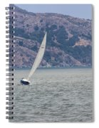 Boat- In Color Spiral Notebook