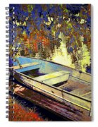 Boat Number 12 Spiral Notebook