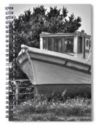 Boat Out Of The Water Spiral Notebook