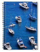 Boat Parking Spiral Notebook