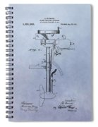 Boat Propeller Patent Drawing 1911 Spiral Notebook