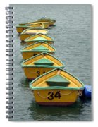 Dingy Boat Rentals Spiral Notebook