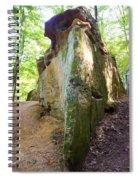 Boat-shaped Rock Wildcat Den State Park Spiral Notebook