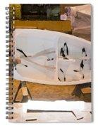 Boat Shed 6 Spiral Notebook