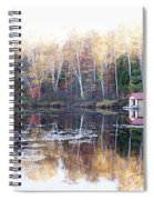 Boat Shed  Spiral Notebook