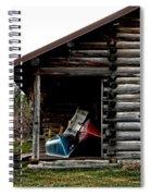 Boat Storage Spiral Notebook