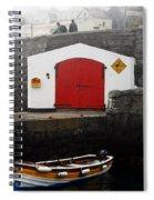 Boathouse Spiral Notebook