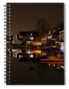Boathouse Row All Lit Up Spiral Notebook