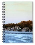 Boathouse Row And Farmount Dam Spiral Notebook