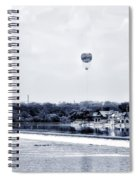 Boathouse Row And The Zoo Balloon Spiral Notebook