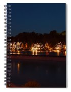 Boathouse Row Before Dawn Spiral Notebook