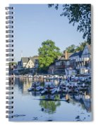 Boathouse Row In September Spiral Notebook