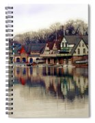 Boathouse Row Philadelphia Spiral Notebook
