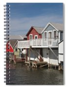 Boathouse Row Spiral Notebook