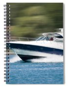 Boating 02 Spiral Notebook