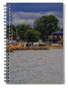 Boating On Lake Erie Spiral Notebook