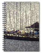 Boats And Bubbles 2 Spiral Notebook