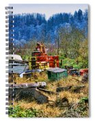 Boats And Heavy Equipment Spiral Notebook
