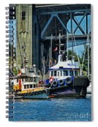 Boats And Tugs Hdrbt3221-13 Spiral Notebook
