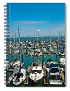 Boats At Bay Spiral Notebook
