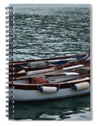 Boats At Rest Spiral Notebook