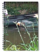 Boats In Giverny Spiral Notebook