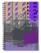 Boats Infinite Spiral Notebook