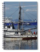Boats Of The North West Spiral Notebook