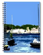Boats On Strangford Lough Spiral Notebook