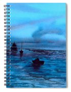 Boats On The Chesapeake Bay Spiral Notebook