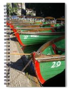 Rowboats Spiral Notebook