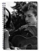 Bob Dylan And Joan Baez Spiral Notebook
