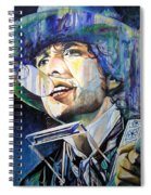 Bob Dylan Tangled Up In Blue Spiral Notebook