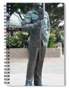 Bob Hope Memorial Statue Spiral Notebook