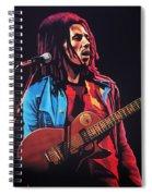 Bob Marley 2 Spiral Notebook