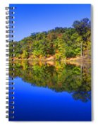 Bobber In The Sky Spiral Notebook