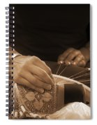 Bobbin Lace At Old Rauma Spiral Notebook