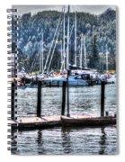 Yachts Spiral Notebook