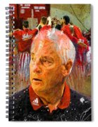 Bobby Knight Indiana Legend Spiral Notebook