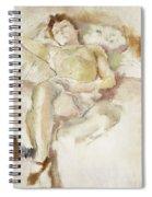 Bobette Lying Down Bobette Allongee Spiral Notebook