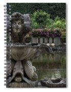 Boboli Fountain Spiral Notebook