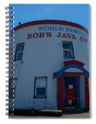 Bob's Java Jive Spiral Notebook