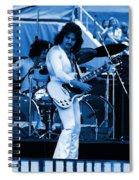 Boc #10 Enhanced In Blue Spiral Notebook