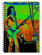 Boc #18 Enhanced In Cosmicolors Crop 2 Spiral Notebook