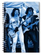 Boc #3 Artistically Enhanced In Blue Spiral Notebook