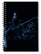 Boc #4 Lasers In Blue Spiral Notebook