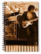 Boc #50 In Amber Spiral Notebook