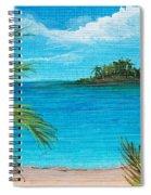 Boca Chica Beach Spiral Notebook